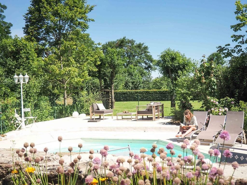Maison Bouvier Sainte Luce Sur Loire gite orangerie: gites and holiday rentals france, atlantic