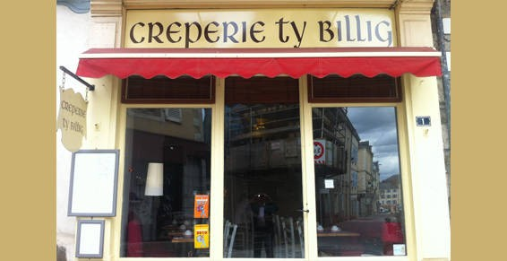 La Poste Le Poiré Sur Vie creperie ty billig: restaurants france, atlantic loire valley