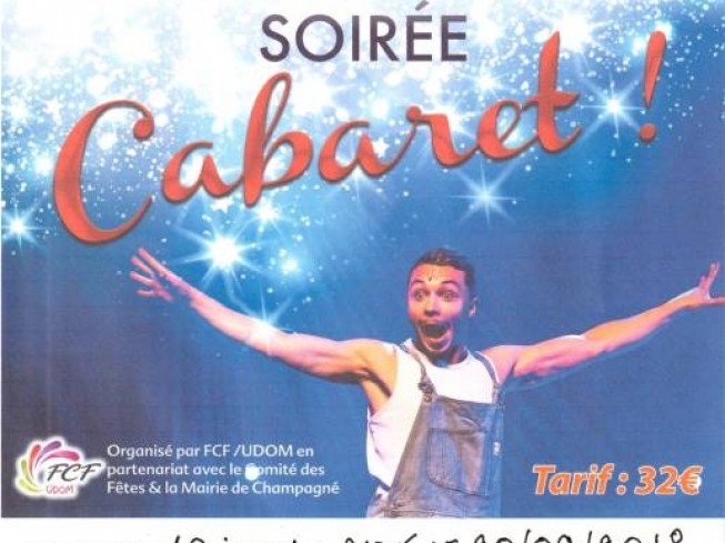 SPECTACLE SOIREE CABARET