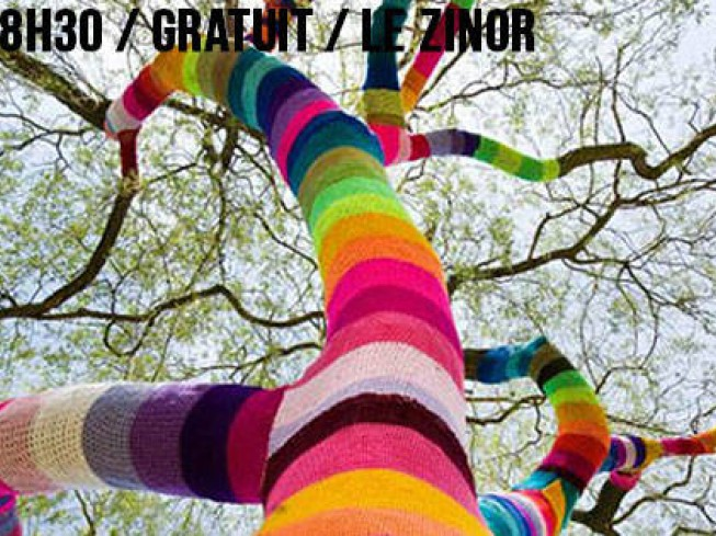 CAFE-TRICOT & YARN BOMBING