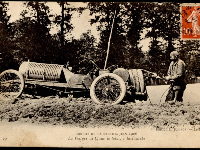 1ER GRAND PRIX DE L'AUTOMOBILE CLUB DE FRANCE - 1906