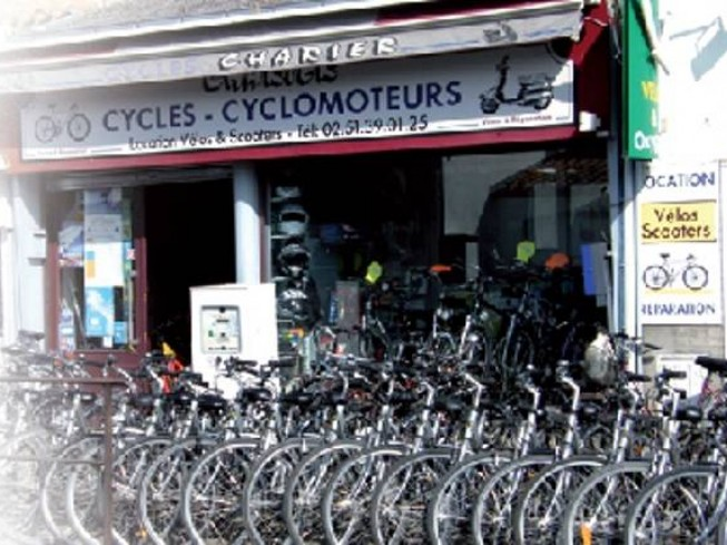 CYCLES CHARIER - LOCATION DE VELOS