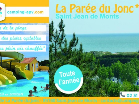 AIRE DE CAMPING-CAR LA PAREE DU JONC
