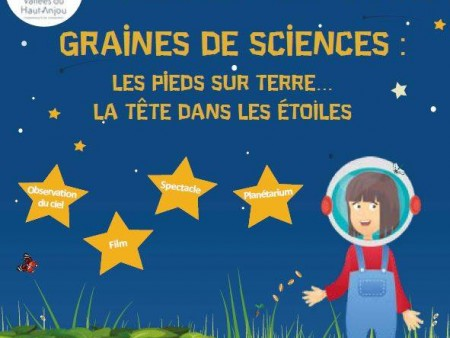 SOIREE DE CLOTURE DE GRAINES DE SCIENCES - THORIGNE D'ANJOU