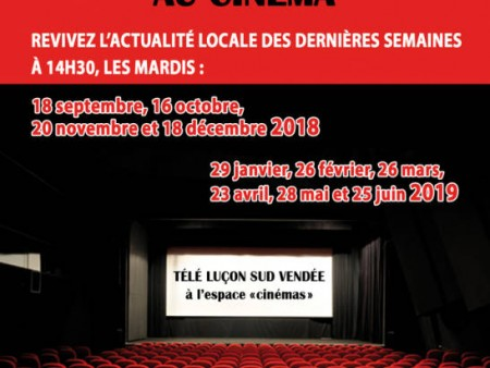 TELE LUCON SUD VENDEE AU CINEMA