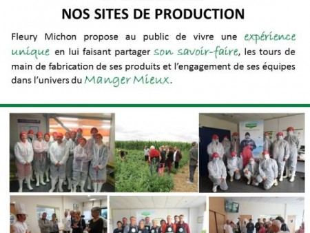 VISITE DE SITES DE PRODUCTION