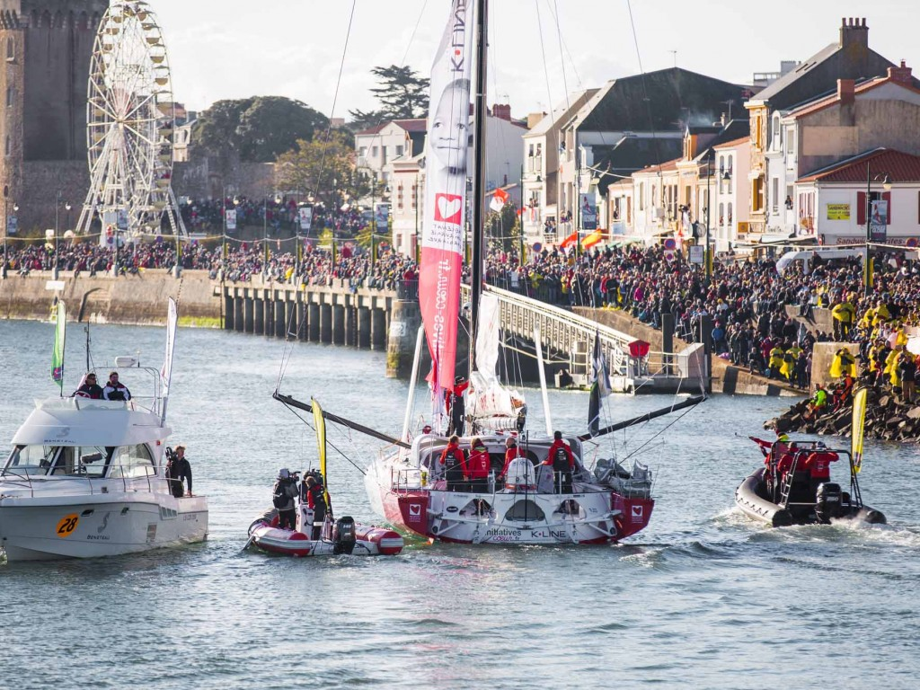 Initiatives Cœur Tanguy De Lamotte - Vendée Globe 2016