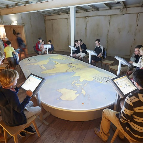 Escal'Atlantic: explore an old cruise liner!