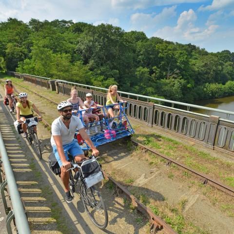 Biking in the Atlantic Loire Valley 3000 km of cycle lanes