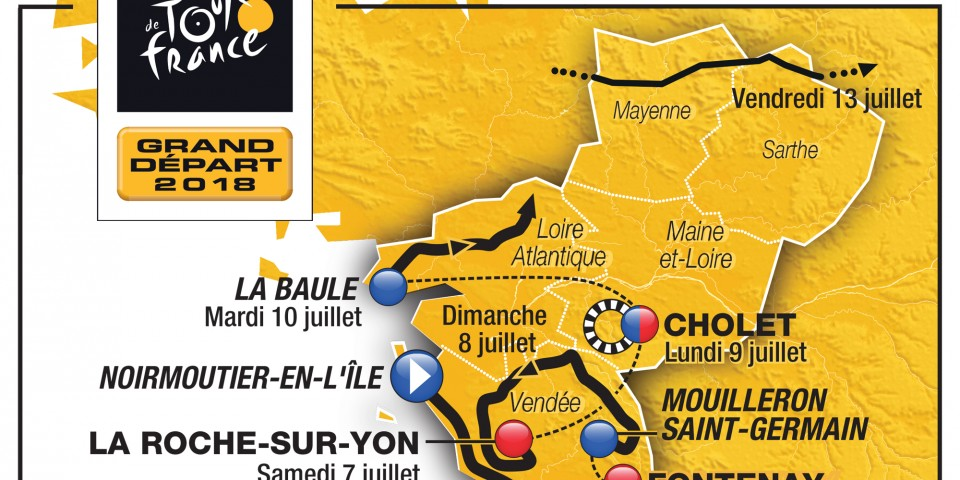 The Tour de France 2018 kicks off in Pays de la Loire